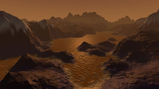 Titan's weird orbit reveals a giant ocean hidden beneath the moon's surface