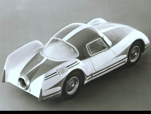 1954 Fiat Turbina Concept, Three Turbine Engines, No Waiting