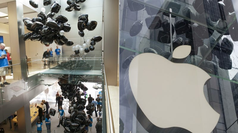 Greenpeace Ambushes Apple Stores with Balloon Prank