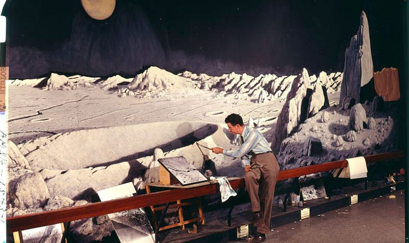 From the Archives: Moon Mural