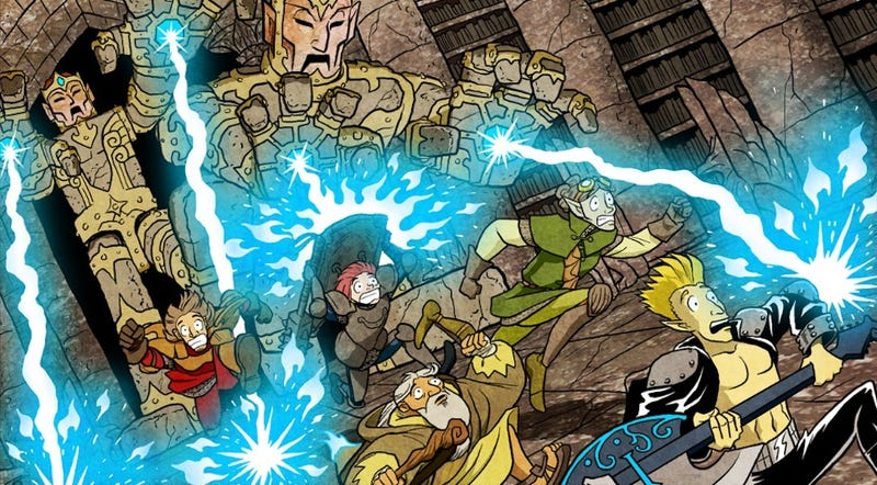 This webcomic reminds us that high fantasy can be both smart and silly