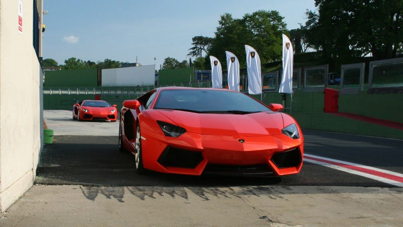 Lamborghini Aventador LP-700 at Vallelunga