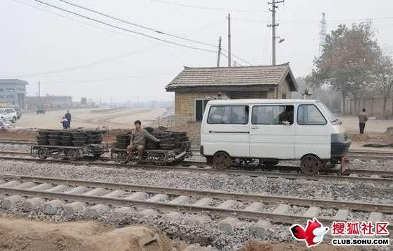 Chinese Breadvan Rides The Rails