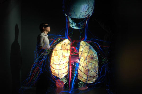 CAVEman Creates Amazing, Gigantic 4D Holograms of the Human Body