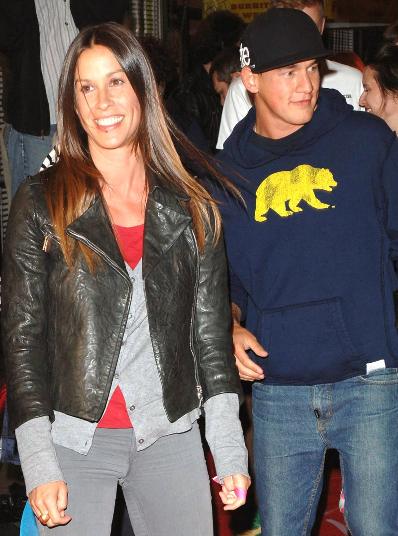 Alanis Morissette Is Pregnant, and Other Surprises
