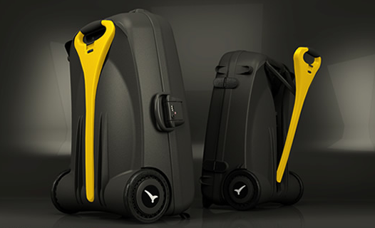 LiveLuggage Power-Assisted Suitcase Lightens the Load for Travellers