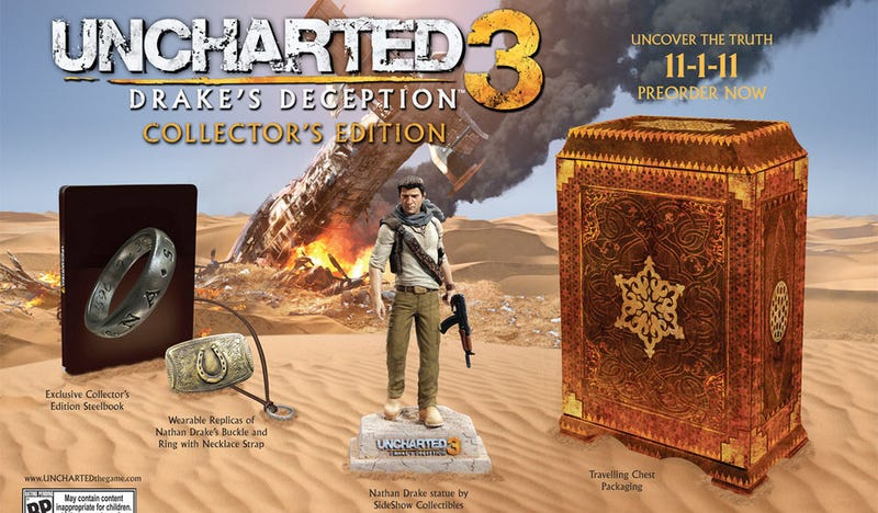 Buckle Up for the Rugged Uncharted 3 Collector's Edition