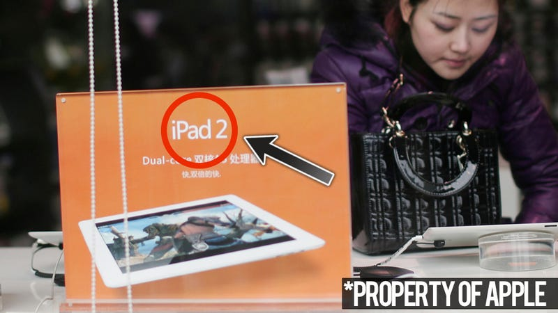 Apple Coughs Up Millions for iPad Name in China