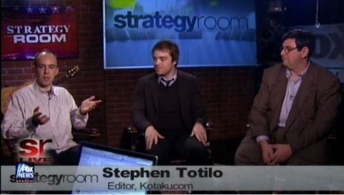 Totilo Talks The Top Games Of 2010 On Fox's Strategy Room
