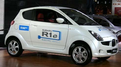 Subaru R1e Re-Unveiled Live