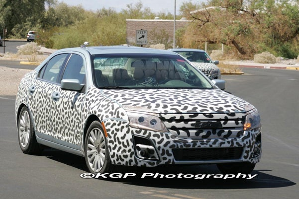 2010 Ford Fusion Spied Uncovered For Desert Testing