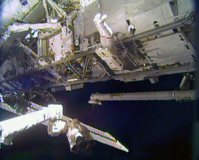 Astronauts Begin Emergency Space Walk at International Space Station