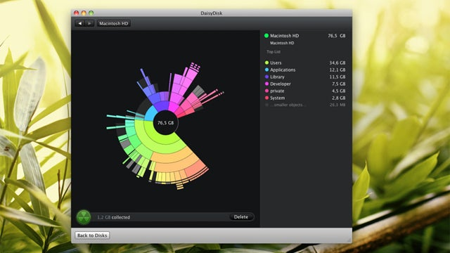 DaisyDisk Searches and Destroys Large Files In the Prettiest of Ways