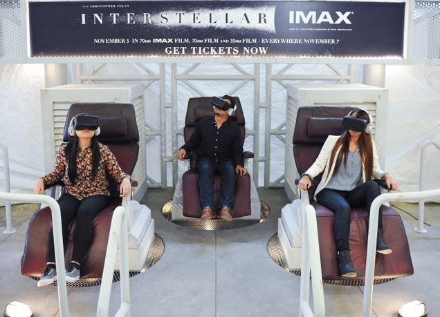 Oculus Rift Took Me Inside Interstellar and I Wanted to Stay There
