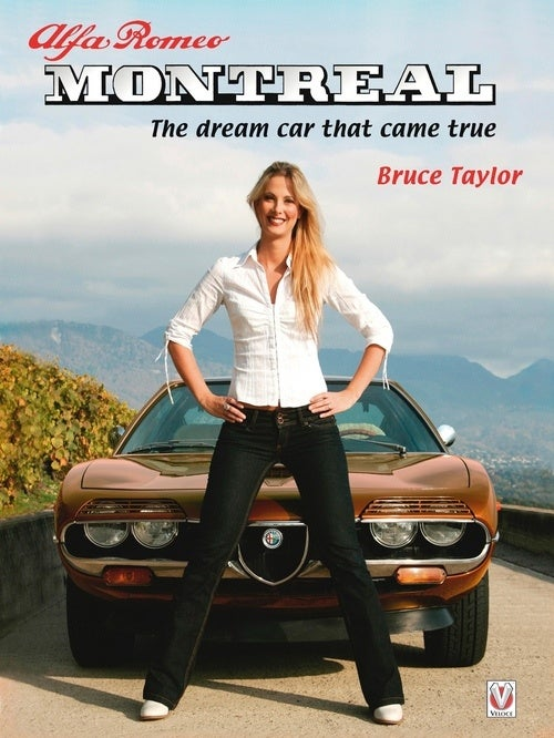 Alfa Romeo Montreal Book