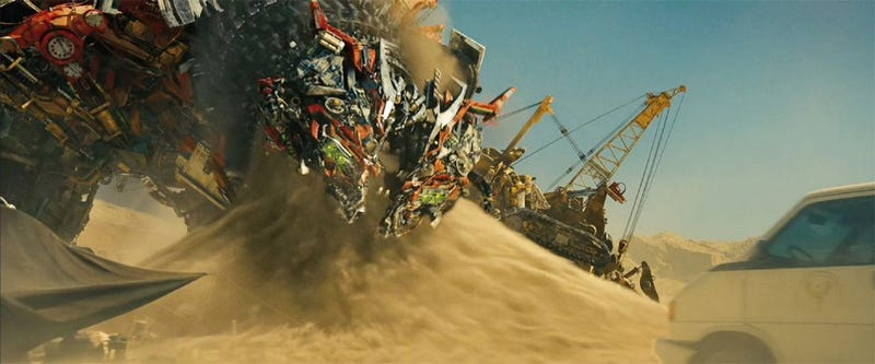 Evil Transforminators Are Eating All Our Sand