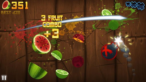 This Week's Android Charts: All Hail the Mighty Fruit Ninja