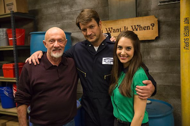 TV This Week: Can Nathan Fillion rescue a Troy-less Community?
