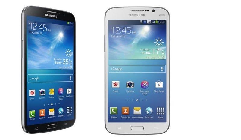 El nuevo smartphone de Samsung es cómicamente gigantesco