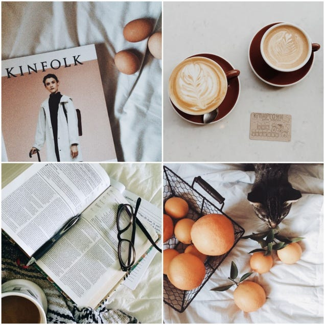 Wood, Citrus, Lattes, Feet, Twine, Repeat: The Kinfolk Kinspiracy Code