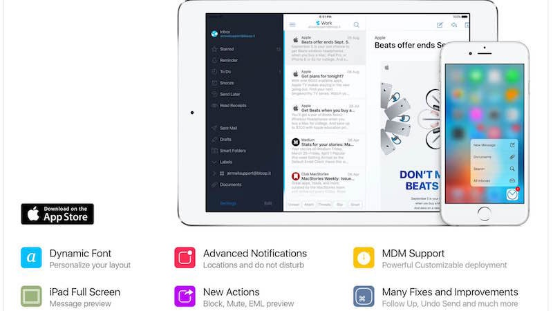Airmail for iPhone Adds Undo Send, Smart Notifications, and Tons More