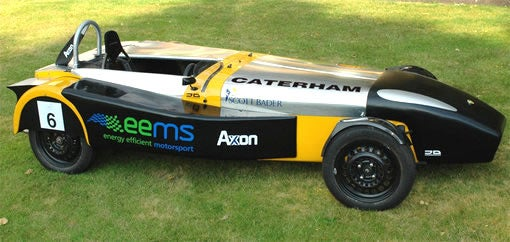 Brits Go Green with Eco-M 100+MPG Sports Car