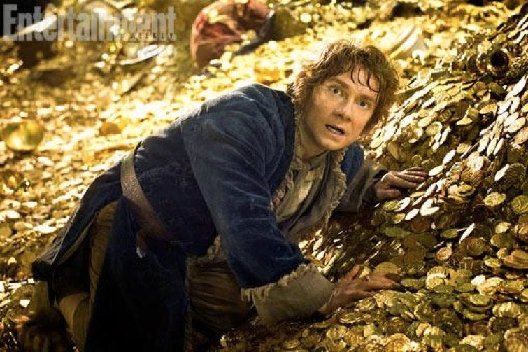 First ever image from The Hobbit: The Desolation of Smaug shows one terrified burglar