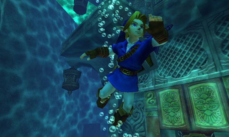 The Legend of Zelda: Ocarina of Time 3D Will Look This Good In June
