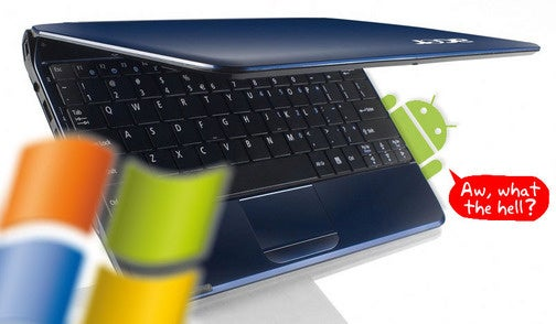 Reports: Acer's Android Netbook Coming Next Month, Still Weighed Down With Windows XP