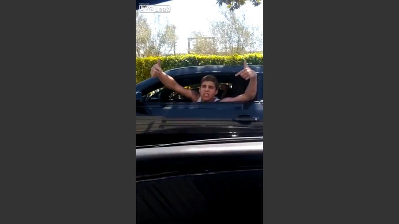 Hollywood Screenwriter's Son Nearly Rear-Ends Car, Goes on Rich Kid Rant