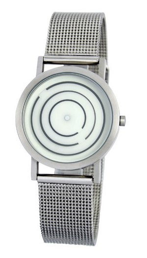 Free Time Watch's Concentric Circles Move to Tell the Time