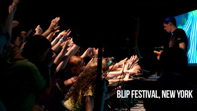 At Blip Festival, the People are Almost as Cool as the Music