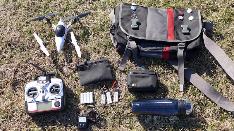 The Drone's Day Out Bag