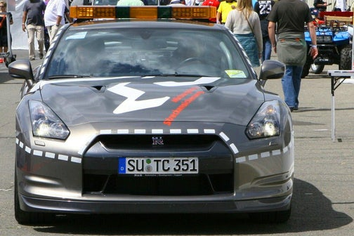Nissan GT-R Fire-Fighting Safety Car Now Patrols The Ring