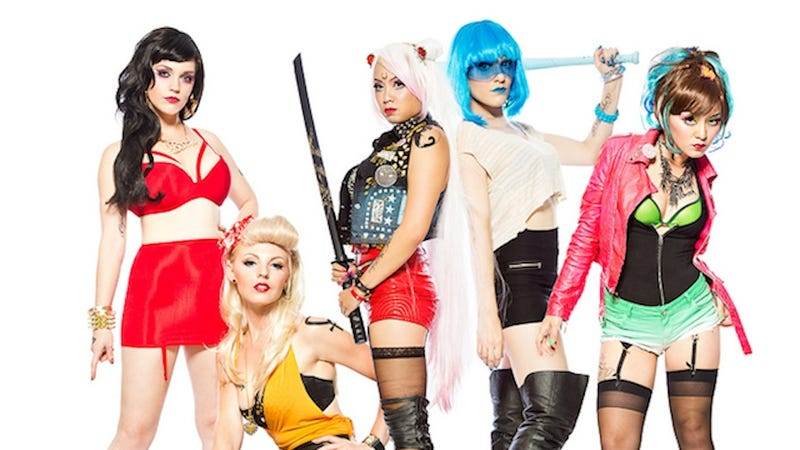 Sailor Moon's biker gang cosplay girls are beyond badass
