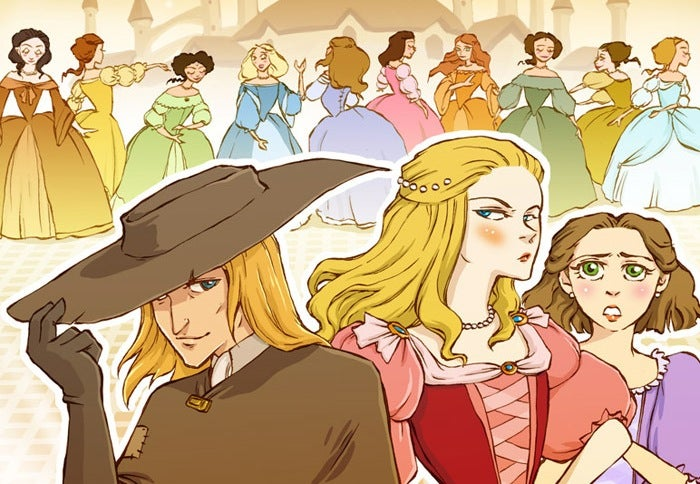 Crowdfund comics based on the lesser-known Grimm fairy tales and more