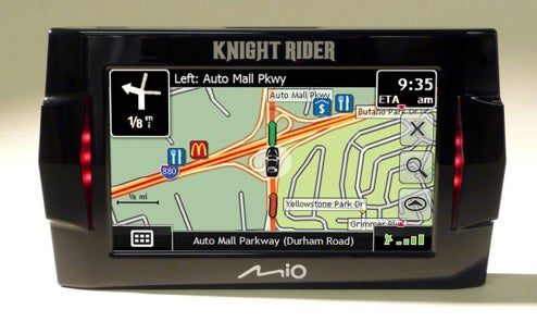 Knight Rider KITT GPS Now Available