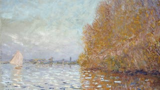 How a $12 Million Monet Was Repaired After Some Idio