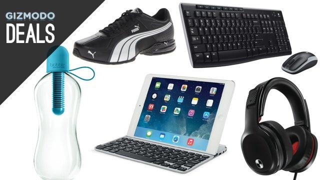 Deals: Customizable Bluetooth Speaker, $40 Puma Shoes, Logitech Combo