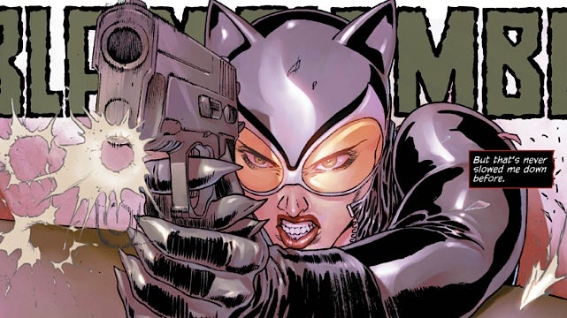 A first look at next week's issue of Catwoman