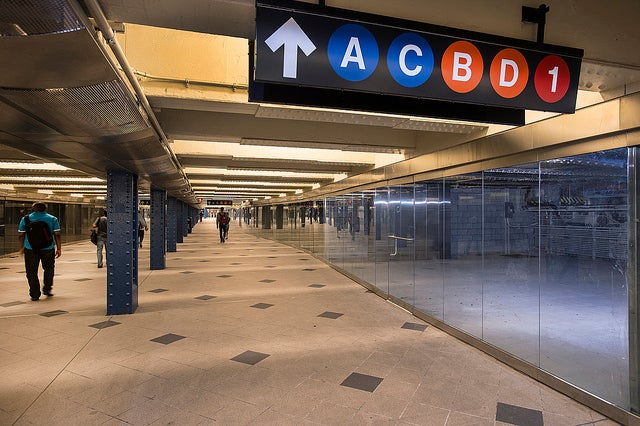 Infant Abandoned on Columbus Circle Subway Platform