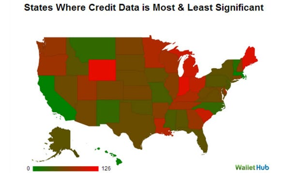 How Your Credit Affects Your Car Insurance Rates, by Company and State