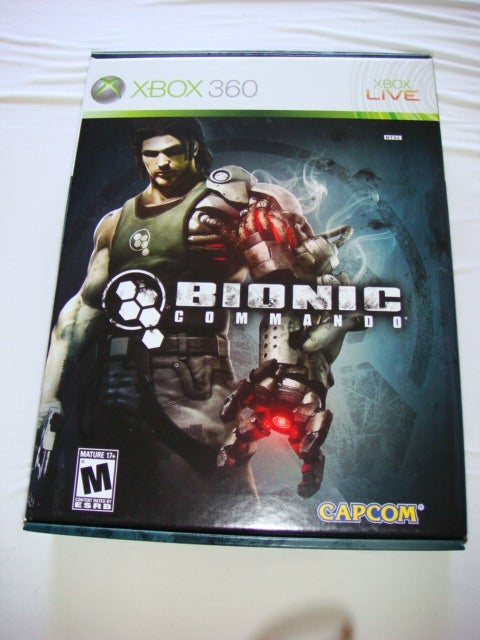 Bionic Commando's Giant 360 Box of Schwag