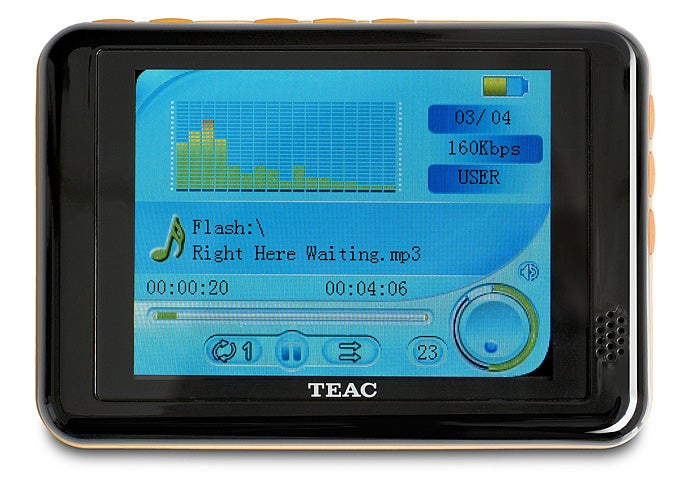 TEAC MP-600 Media Player is Thin and Crisp