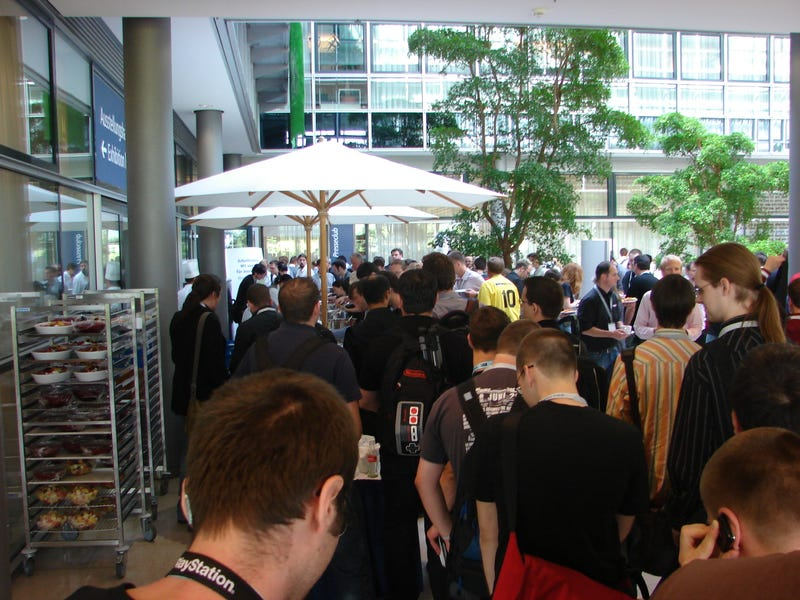 Lunchtime At Games Convention 2008