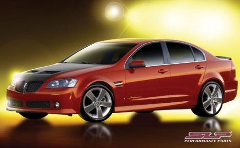 SLP Performance Pontiac G8 Firehawk Reveals Flaming Birds Will Never Die