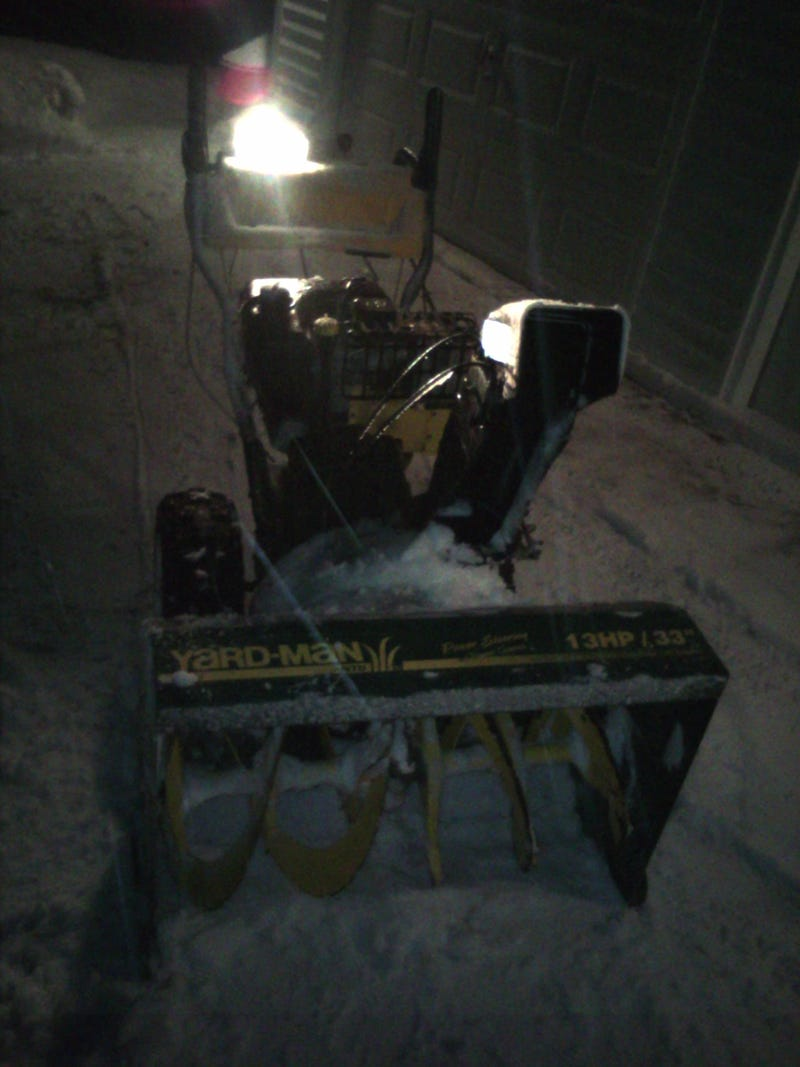 Show me your snow removal devices!