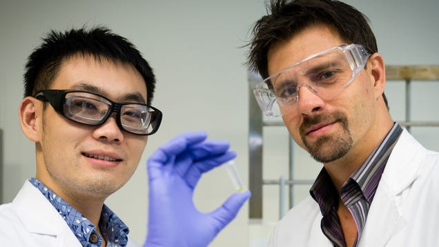 A Glue That Only Hardens When Electrified Will Even Work Under Water