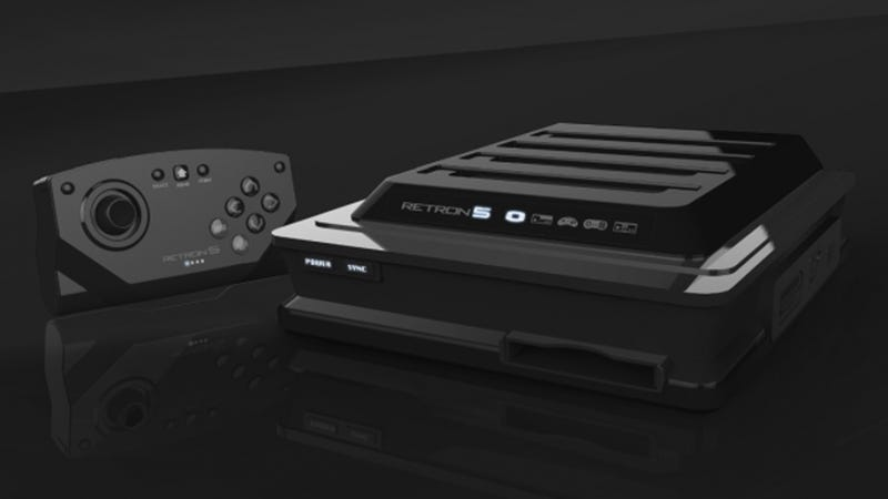 RetroN 5 Console: Play All the Best Games From Your Wasted Youth