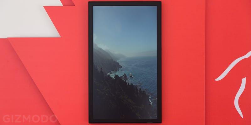 Is This Display For Computer Art More Than Just a Screen for GIFs?